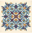 arabesque vintage elegant floral decoration print