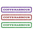 coffs harbour watermark stamp vector image