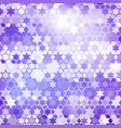 purple star background vector image