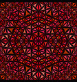 red seamless kaleidoscope pattern background vector image vector image
