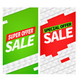 sale color banners clipart vector image