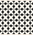 seamless texture with circles and rounded shapes vector image vector image