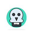 skull skull death medical man abstract circle vector image