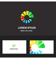 9Abstract logo design template for business vector image vector image