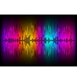 Digital Equalizer Abstract music volume infinity vector image vector image