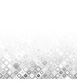 grey pattern with squares vector image vector image