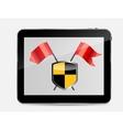Internet Security Icon vector image vector image