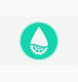 oil icon sign symbol vector image vector image