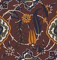 tile oriental floral ethnic drawing pattern flower vector image vector image