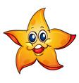 Cartoon Starfish vector image