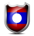 Flag of Laos vector image vector image