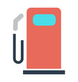 gas station symbol - gasoline pump petrol symbol vector image vector image