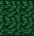 palm leaf pattern vector image vector image