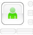 Person white button vector image