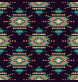 seamless decorative ethnic pattern american vector image vector image