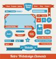 Retro Web Design Elements