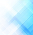 abstract blue background with square shapes vector image vector image