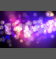 abstract circle blurred bokeh lights and glitter vector image vector image