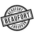 Beaufort rubber stamp vector image vector image