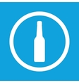 Bottle sign icon vector image