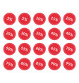 discount price off tags set sale labels