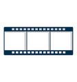 film strip icon cartoon style vector image vector image
