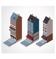 Isometric old buildings vector | Price: 3 Credits (USD $3)