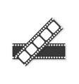 movie film frame icon vector image vector image