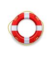 Ship lifebuoy vector image vector image