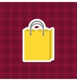 shopping bag purchase vector image vector image