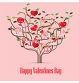 Valentine Love icon Tree vector image