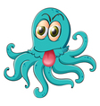 an octopus vector image