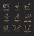 Animal Logos vector image vector image