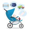 baby needs vector image vector image