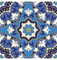 Blue pattern of mandalas