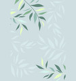 branches leaves vector image vector image