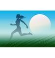 Dawn Runner vector image vector image