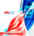 independence day of america vector image vector image
