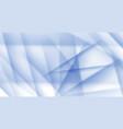 light blue ice polygonal halftone background vector image vector image