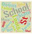 St Louis Schools text background wordcloud concept vector image vector image