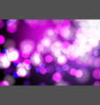 abstract pink and blue blurred light bokeh lights vector image