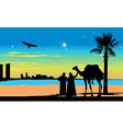 Arabian Travelers vector image vector image