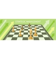 Business strategic management vector image vector image