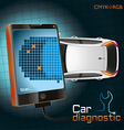 Car Diagnostic Gadget vector image vector image
