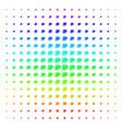 fire deadline clock shape halftone spectral grid vector image