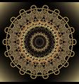 greek floral round jewelry mandala ornamental vector image vector image