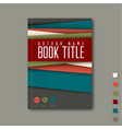 Minimalist brochure book flyer design template