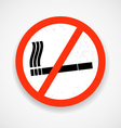 No smoking vector image vector image