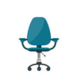 office chair flat cartoon vector image vector image