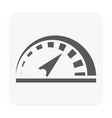 speed meter icon vector image